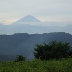 久し振りに富士山の姿を拝むことが出来ました