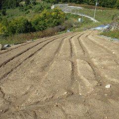 まだ種蒔きをしていないカモマイル・ジャーマン畑